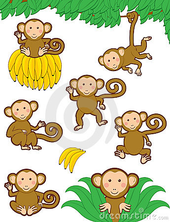 Free Monkeying Around Royalty Free Stock Images - 5327189