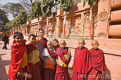 Monks Editorial Photography