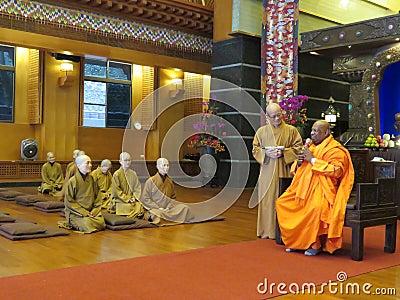 Monks In Temple Free Public Domain Cc0 Image