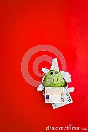 Monnaie de banque porcine