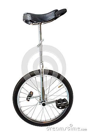 Mono cycle on white