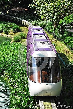 Mono Rail Train