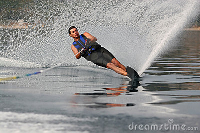 Mono waterskiing