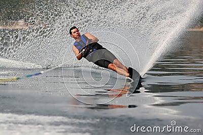 Mono waterskiing