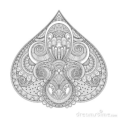 Free Monochrome Decorative Pike, Abstract Design Element Royalty Free Stock Images - 121848539