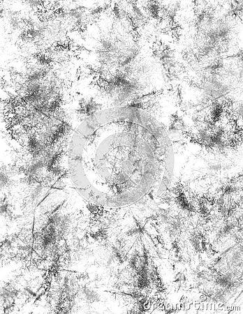Monochrome fiber paper