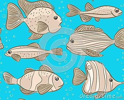Monochrome fish