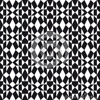 Monochrome Folk Pattern