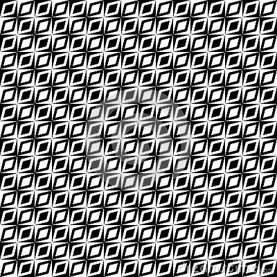 Monochrome retro op pattern