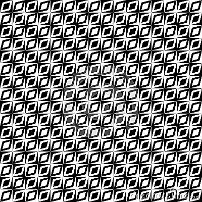 Monochrome retro op pattern
