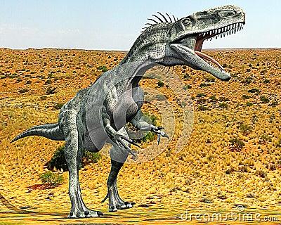 Monolophosaurus lost desert