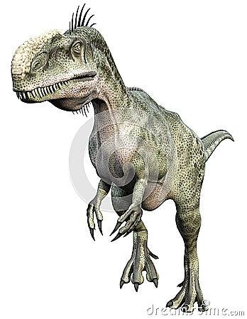 Monolophosaurus run