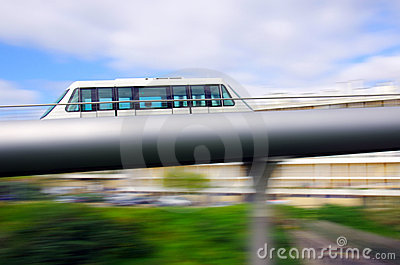 Monorail carriage
