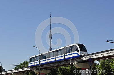Monorail Editorial Photography