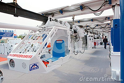 Monorail suspension trolley Editorial Stock Photo