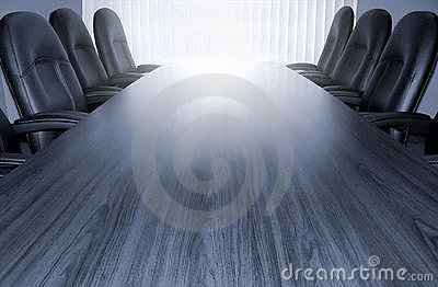 Monotone conference table