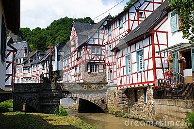 Monreal - most beautiful town in Rhineland Palatinate