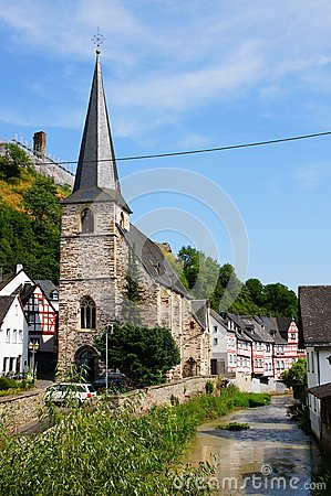Monreal - most beautiful town in Rhineland Palatinate