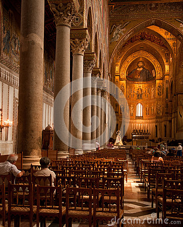 Monreale Editorial Stock Image