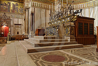 Monreale Cathedral Sicily Italy