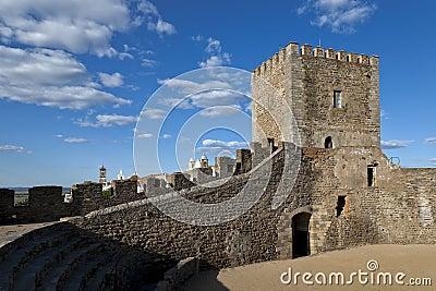 Monsaraz castle in the Alentejo, Portugal