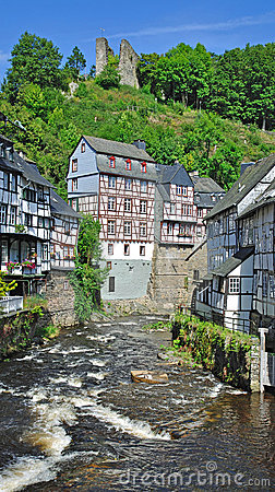 Monschau in the eifel