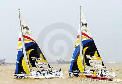 The Monsoon Cup 2008 Sailing Race Editorial Photo