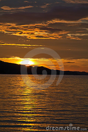 Monsoon Season Sunset Busuanga Philippines