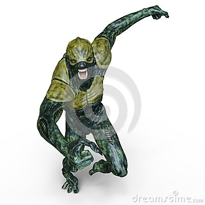 Free Monster Royalty Free Stock Image - 90467876