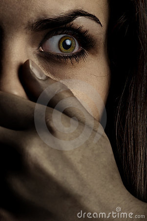 Free Monster And Victim Royalty Free Stock Photography - 3123257