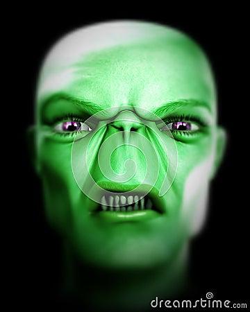 Monster Face 104
