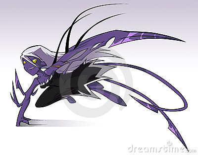 Monster girl Moniq