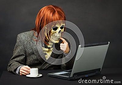 Monster has got access to network Internet
