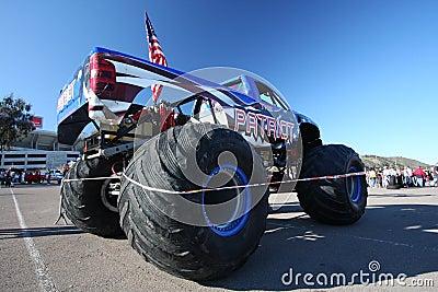 Monster Jam truck Patriot Editorial Image