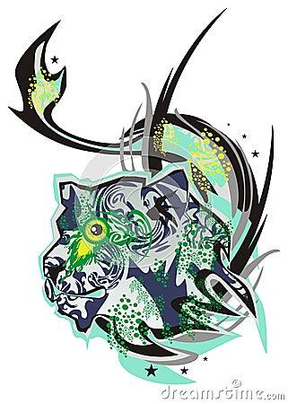 Free Monster Lion Stock Image - 33621011