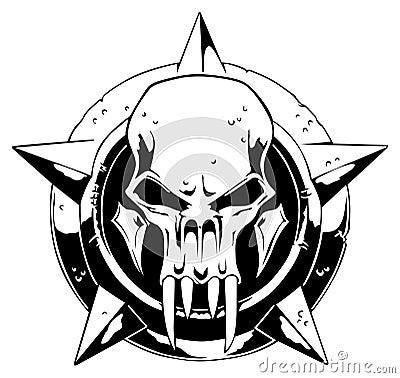 Free Monster Skull Royalty Free Stock Photo - 5290225