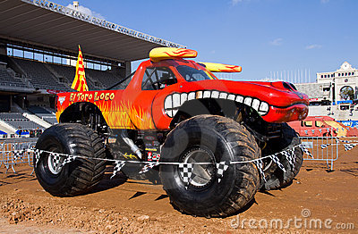 Monster Truck Editorial Photography