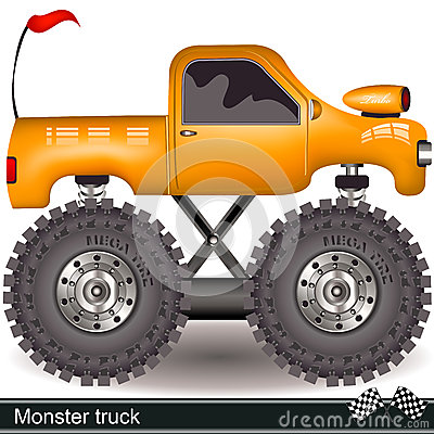 Free Monster Truck Royalty Free Stock Photos - 34072078