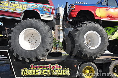 Monster truck 4x4 Editorial Stock Image