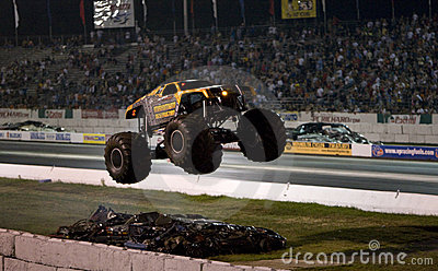 Monster truck Editorial Stock Image