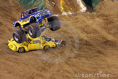 Monster truck Obsession Editorial Image
