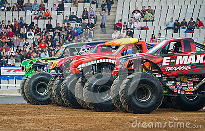 Monster Trucks Editorial Photo
