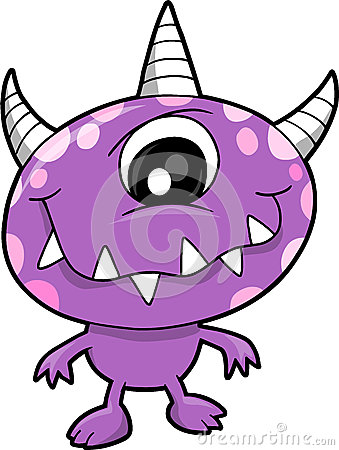Monster Vector Illustration