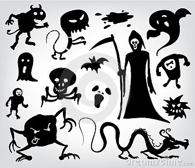 Monsters, Ghosts And The Grim Reaper