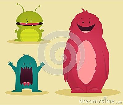 Monsters, illustration