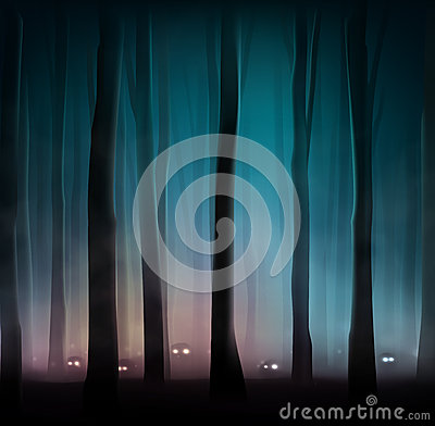 Free Monsters In Forest Royalty Free Stock Image - 40998916
