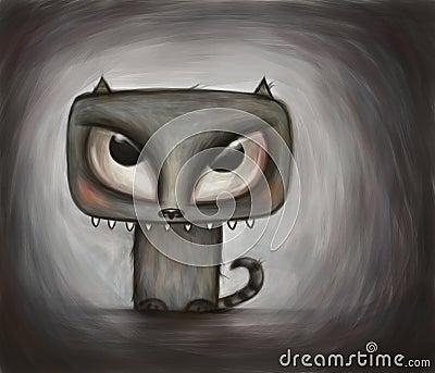 Monstrous Kitty