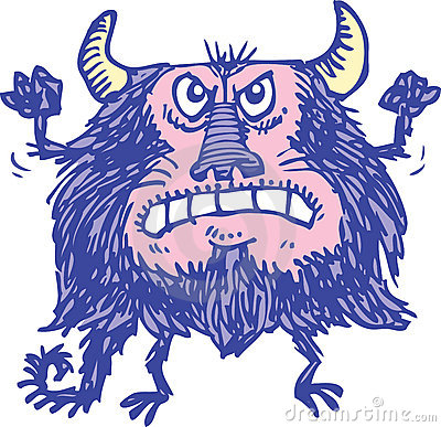 Monstruo púrpura