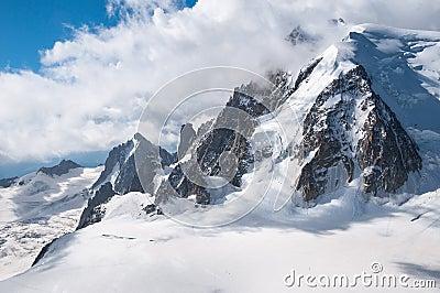 Mont Blanc, Aiguille du Midi, Mountains