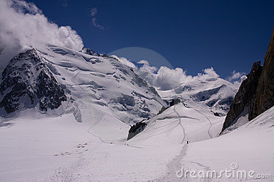 Mont Blanc Du Tacul Stock Photos - Image: 16852383